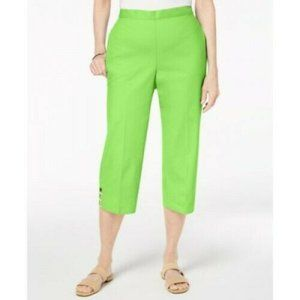 16P Alfred Dunner Capris Cropped Pants